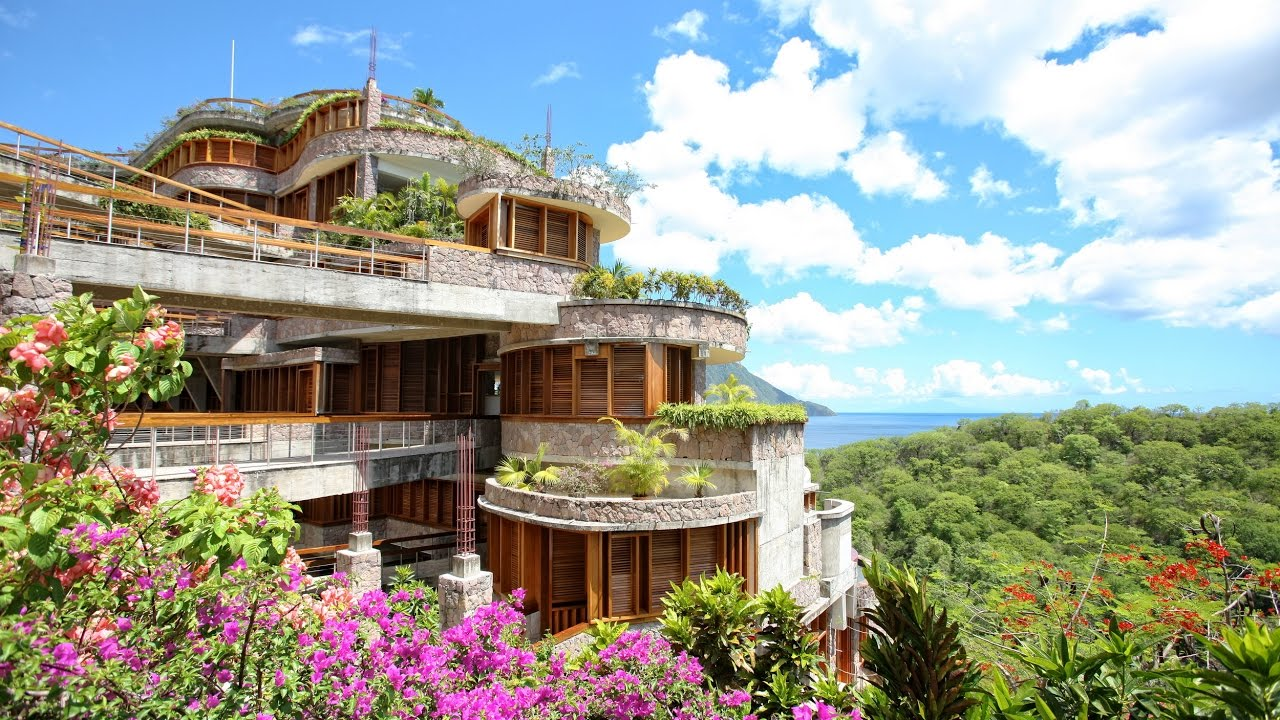 Jade Mountain Resort on St. Lucia Island 2016