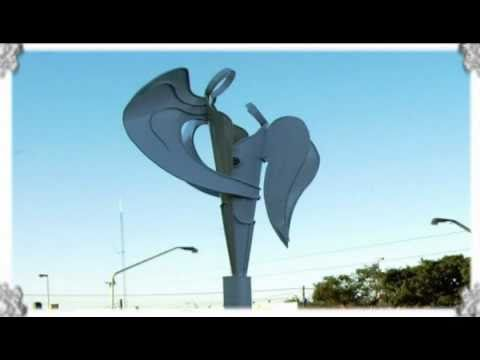 Esculturas en alambre y acero de fabi n villani youtube - Alambre de acero ...