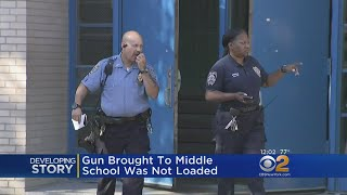 Gun Brought To Bronx Middle School