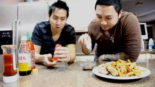Tran Can Cook!: How To Make Vietnamese Style Chicken Strips & Sweet Potato Fries