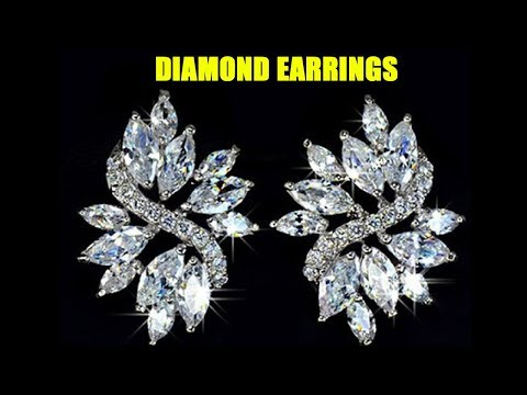 Latest DIAMOND Earrings With Weight And Price
