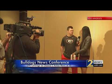 VIDEO: Georgia Bulldogs News Conference live from Pasadena