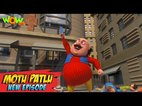 Motu Patlu New Episodes 2021 | Lucky Draw In London | Funny Stories | Wow Kidz