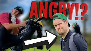 THIS 26 HANDICAP GOLFER SNAPPED HIS CLUBS AND NEEDED ANGER MANAGEMENT!?