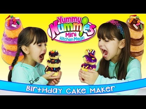 Yummy Nummies Birthday Cake Maker Birthday Cakes Party