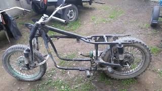 Мотоцикл с двигателем от ВАЗ 2109  Часть 2