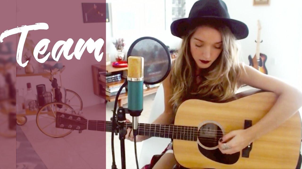 LORDE - Team (Cover by Ignacia Barrios) - YouTube