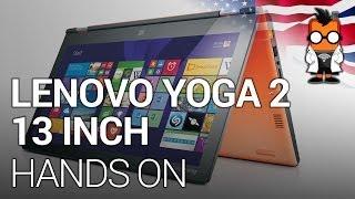 Lenovo Yoga 2 Hands On - 13.3-inch Intel Core i Ultrabook - CES 2014 [ENG]