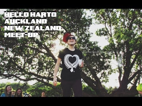 HANNAH HART IN AUCKLAND, NEW ZEALAND!. HELLO, HARTO! NZ MEET-UP