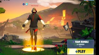 """1 hr Of TEAM RUMBLE Ikonik Skin"" FORTNITE , Live, FOURTWENTYGUITAR, Ps4"