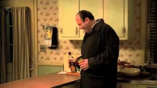 The Sopranos - Tony laughs at Bobby's hunting apparel thumbnail