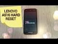 Lenovo A516 HARD RESET или как снять блокировку,сброс до заводских настроек!!!