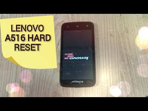 Lenovo A516 - YouTube