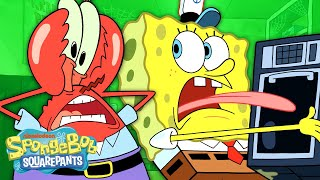 The Krusty Krab Break Room  | Breakin' | SpongeBob