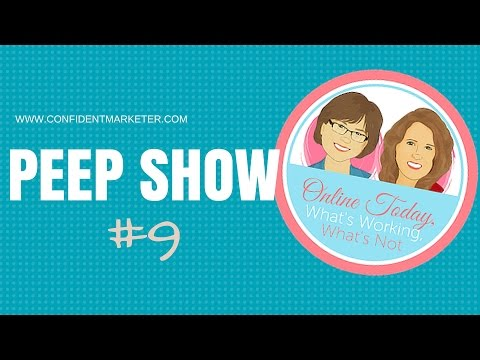 Peep Show #9: How To Title YouTube Movies, Creating Products Quickly, List Building