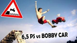 BOBBYCAR-TUNING | Mit 6,5 PS über die Rampe!