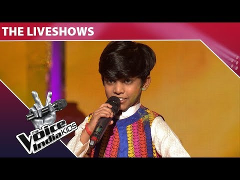 Mohd. Fazil Performs On Rang Barse   The Voice India Kids   Episode 32