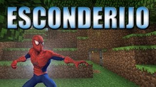 Esconderijo do homem aranha da floresta - Minecraft Tutorial 27