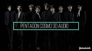 PENTAGON - COSMO 3D AUDIO (USE HEADPHONES!)