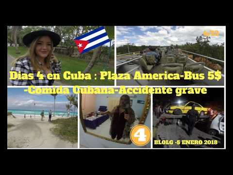 Blog Cuba 05 enero 2018-Plaza America-Bus 5$ CUC-Comida Cubana -Accidente grave