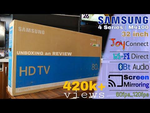 Samsung 32 Inch 4 Series | M4100 LED Tv || Joy Plus Features 🔥 🔥 🔥