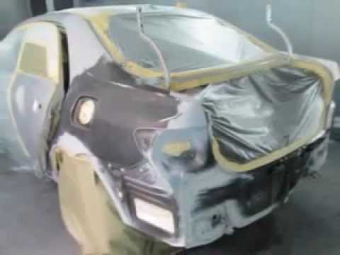 2010 Toyota Corolla Rear End Collision Repair Youtube