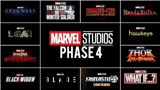 MARVEL PHASE 4 OFFICIALLY REVEALED   MCU PHASE 4 IN 1 MINUTE