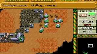 Dune II - Ordos mission 9 speedrun (last) 35:02 (PC DOS)