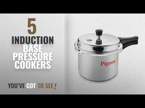 Top 10 Induction Base Pressure Cookers [2018]: Pigeon By Stovekraft Favourite Induction Base