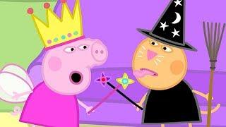 Peppa Pig in Hindi - Fancy Dress Party -  - हिंदी Kahaniya - Hindi Cartoons for Kids thumbnail