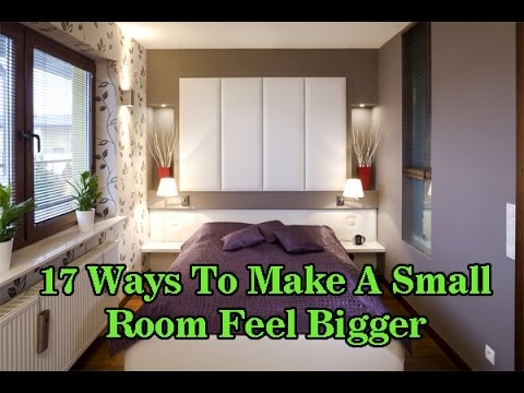 Small Bedroom Ideas | 17 Ideas To Feel Small Room/bedroom Feel Bigger