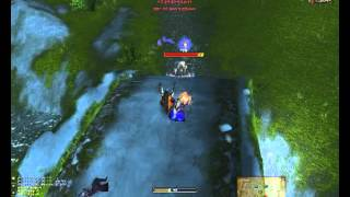 DrakeDog 8 - World of Warcraft Level 70 Warlock Destruction PvP in TBC