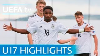 U17 Highlights: Germany 3-1 Serbia