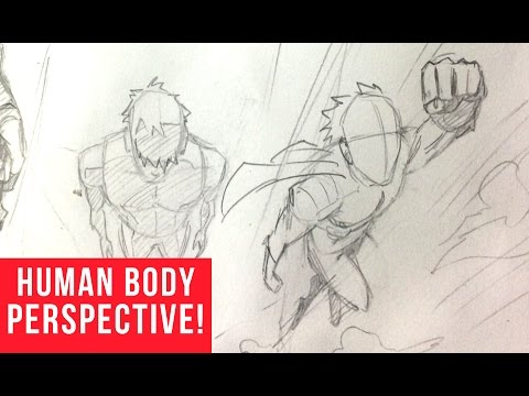 How To Draw Characters In Perspective Birds Eye View