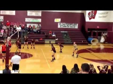 Kristen Mccanlies 2 volleyball