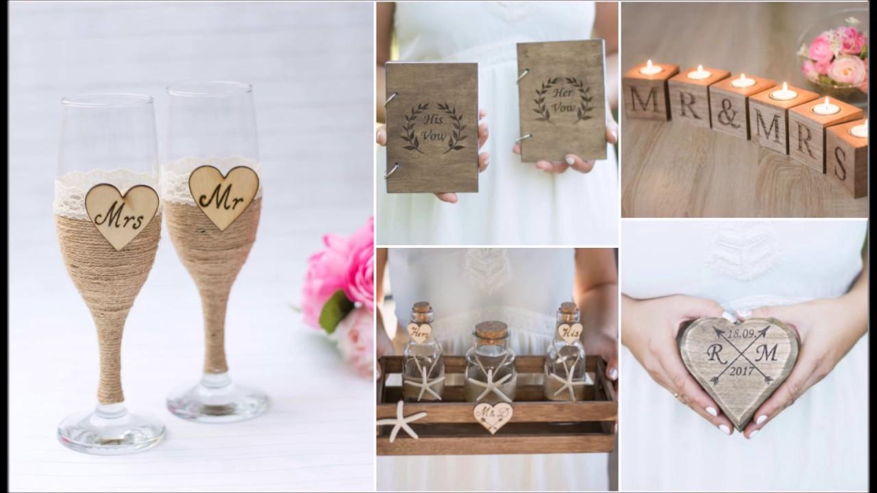 Handmade Wedding Decoration By Happy Wedding Art - YouTube
