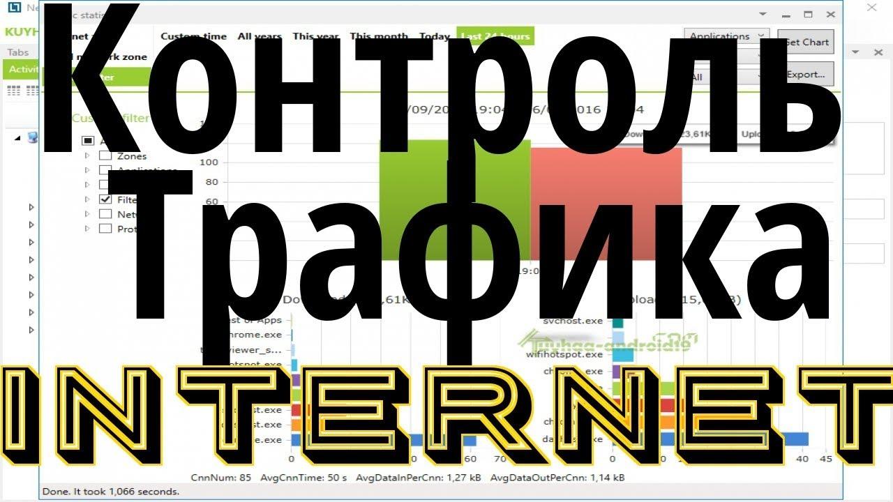 Учет и контроль интернет трафика