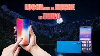 PROMESAS 4K NOCTURNO, MAS SORTEO. Huawei P20 PRO vs iPHONE X GRABANDO POR LA NOCHE