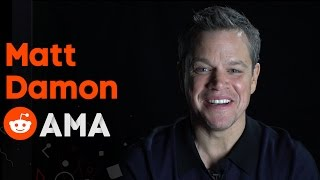 Matt Damon: Reddit Ask Me Anything