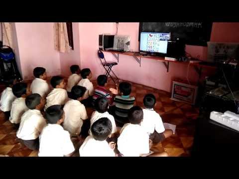 E-Vidyaloka online class Uppin-Betageri