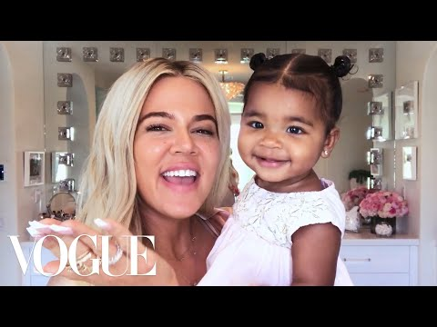 Khloé Kardashian's New Mom Beauty Routine | Beauty Secrets | Vogue