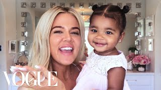 Khloé Kardashians New Mom Beauty Routine  Beauty Secrets  Vogue