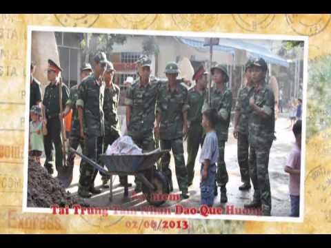 Chiến Sỹ Lữ Đoàn 434 - Quân Đoàn 4 - Thiện Nguyện Tại Trung Tâm Nhân Đạo Quê Hương