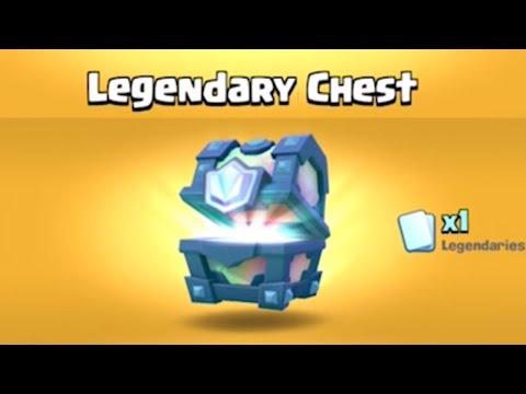 OMG LEGENDARY CHEST OPENING AND ICE WIZARD IN SHOP | Clash Royale