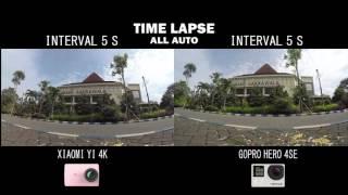 COMPARE #4 : xiaomi yi 2 - 4k VS Gopro Hero 4 Silver Edition INDONESIA