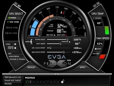 How To Overclock Your Monitor Evga Precision X 4 0