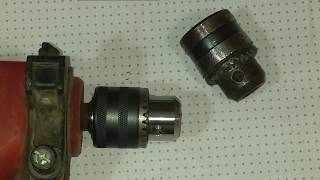 How to replace drill chuck