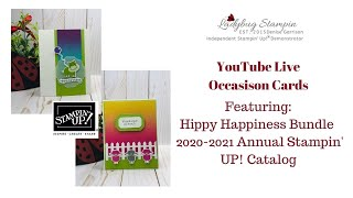 ❤️ Live Stampin' UP! Hippo Happiness 2020-21 Annual Catalog