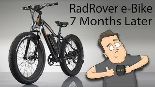 Do I still love my RadRover e-Bike after 7 months?