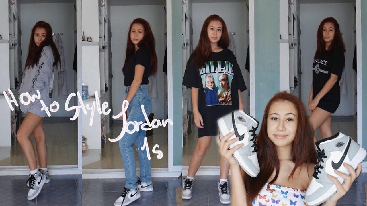 แต่งตัวยังไงดีกับรองเท้า Jordan 1 ?? 💕 || AF